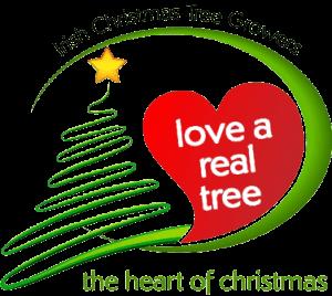 logo for irish christmas tree growers association of Ireland